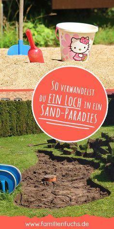 Sandkasten Selber Bauen Alle Infos Erfahrungen Und Tipps 2019 In 2020 Natural Playground Build A Sandbox Sand Pit