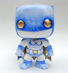 """Bats"" - Custom Funko POP! Batman figure."