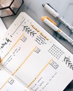 A beautiful, minimal weekly bullet journal spread. ideen bullet journal A beautiful, minimal weekly bullet journal spread. Planner Bullet Journal, Bullet Journal Aesthetic, Bullet Journal Notebook, Bullet Journal Spread, Bullet Journal Layout, Bullet Journal Inspiration, Journal Ideas, Journal Diary, Diary Planner