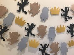 Where the wild things are party garland by StripestoSparkle on Etsy https://www.etsy.com/listing/385178030/where-the-wild-things-are-party-garland