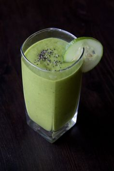 a green drink | delightful delicacies