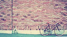 wall of bicycle