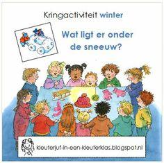 Kleuterklas: Kringactiviteit winter - Voelen: wat ligt er onder de sneeuw?