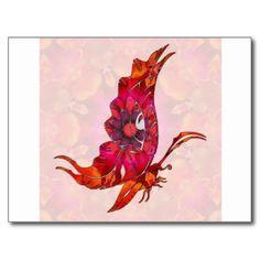 Mariposa 02 de la mandala postal