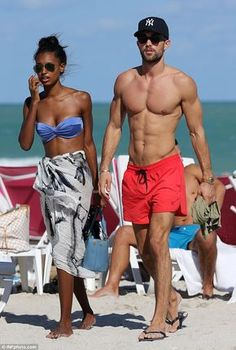 Keep calm and love interracial couples. Interracial Couples, Biracial Couples, Interracial Wedding, Mixed Couples, Fit Couples, Cute Couples Goals, Couple Goals, Fitness Couples, Jasmine Tookes