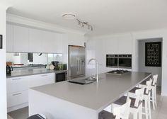 SLEEK CONCRETE - Caesarstone Gallery | Kitchen & Bathroom Design Ideas Inspiration