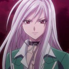 Anime Ai, Chica Anime Manga, Kawaii Anime Girl, Anime Art Girl, Rosario Vampire Moka, Yandere Girl, Vampire Girls, Gothic Anime, Vampire Knight