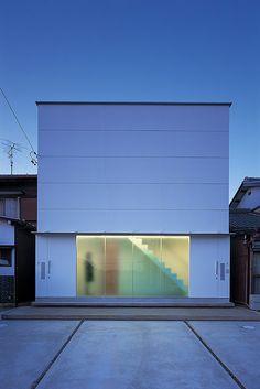 Casa minimalista en Japón de NRM Architects Office