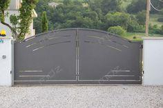 Cancelli moderni in acciaio e ferro battuto - Vicenza