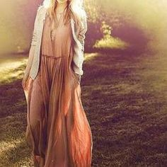 Trend Alert : Bohemian Maxi Dress Get On Fire!