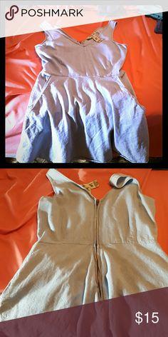 Denim look short dress Super cute medium dress from windsor...zipper back Indigo Rein Dresses Mini