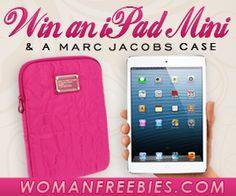 #Sorteo: Gana una Mini Ipad y un case de Mar Jacobs en color rosado gracias a Woman Freebies - Súper Baratísimo o Gratis