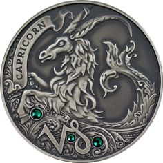 Belarus 2013 20 rubles Capricorn Signs of the Zodiac Antique finish Silver Coin TopWorldCoins