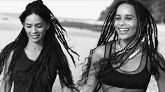 "It's a modeling family affair. Zoë Kravitz and Lisa Bonet star together in the Spring 2016 print and video campaign for Calvin Klein's Watches + Jewelry, which features the tagline, ""Life in the Now."""