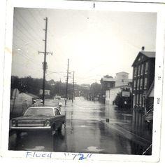Hurricane Agnes, 1972
