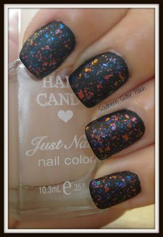 Southern Sister Polish: 13 Days of Halloween... Day 4 Flakie Matte