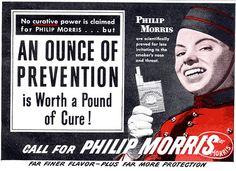 Publicidad / Anuncio tabaco / Old tobacco ads