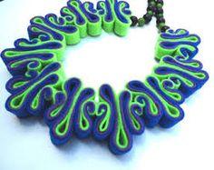 felt jewellery designers - Google Search