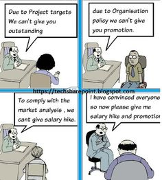 Humour - Technical / Technology Cartoons - Appraisal and Manager