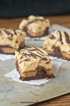 Reese's Stuffed Brownies I Tastes of Lizzy T I