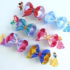 Our Disney Inspired bows are a popular choice for stocking fillers!!