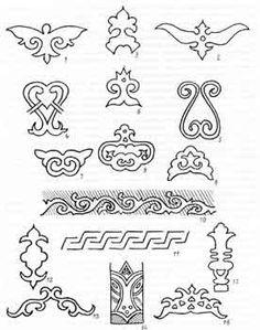 Pattern of the Tartar people of Kasar