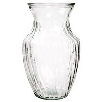 """Bulk Clear Spiral Glass Bouquet Vases, 8"""" at DollarTree.com"""