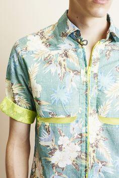 Hawaian-shirt C.8 Vintage-printed