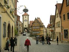 Rothenburg ob der Tauber, Germany by Don Stein on 500px
