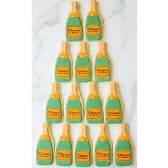 Champagne Bottle Cookies, Sweet Kiera