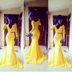 "12.4k Likes, 215 Comments - Africa's Top Wedding Website (@bellanaijaweddings) on Instagram: "" @bekz70 in @rafiatbisodun dress! #AsoEbiBella"""