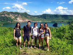 Trek to the Taal Volcano Crater Lake @ Taal Volcano, Tagaytay, Philippines. Tagaytay Philippines, Taal Volcano, Crater Lake, Trek, Boat, Earth, Horses, Explore, Mountains