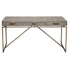 Pachi Regency Grey Faux Shagreen Antique Brass Desk Kathy... https://www.amazon.com/dp/B01LZJ8CLN/ref=cm_sw_r_pi_dp_x_UiGgybBBD4AVW