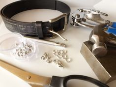 The Beading Gem's Journal: How to Make Recycled Jewelry from a Leather Belt