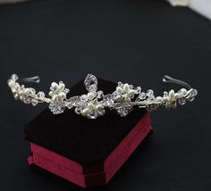 European style luxury crown pearl crystal hair jewerly bridal hairband wedding hair accessory party hairband decoration-in Hair Jewelry from Jewelry & Accessories on Aliexpress.com | Alibaba Group
