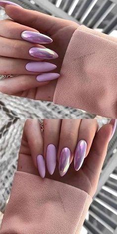 ✔ Bеѕt Winter Nail Art Ideas 2019 Winter Nails 2019, Winter Nail Art, Summer Nails, Cute Acrylic Nails, Cute Nails, Hair And Nails, My Nails, Nail Swag, Artificial Nails
