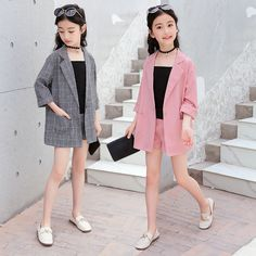 10 Best Online shopping at the best price for Automotive, Mobile Phones & Accessories, Computer . Girls Fashion Clothes, Girl Fashion, Girl Outfits, Summer Outfits, Fashion Beauty, Kids Suits, Girl Sleeves, School Uniform Girls, Girls In Leggings