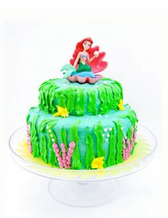 Little Mermaid Cakes!