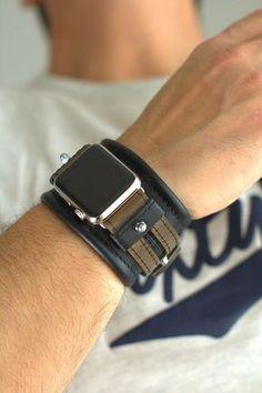 The Quartz Watch Demystified Apple Watch Cuff, Apple Watch Leather, Apple Watch 1, Apple Watch Iphone, Apple Watch Series 2, Apple Watch Bands, Cool Watches, Watches For Men, Stylish Watches