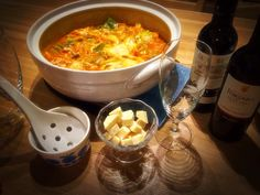 tomato pot with wine