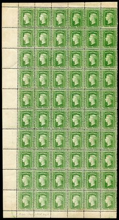 NEW SOUTH WALES - 1882-97 Wmk '40' 3d yellow-green Perf 12x11 SG 226e complete left-hand pane of 60, generally well-centred,… / MAD on Collections - Browse and find over 10,000 categories of collectables from around the world - antiques, stamps, coins, memorabilia, art, bottles, jewellery, furniture, medals, toys and more at madoncollections.com. Free to view - Free to Register - Visit today. #Stamps #MADonCollections #MADonC South Wales, Bottles, Mad, Stamps, Coins, Auction, Collections, Australia, Jewellery