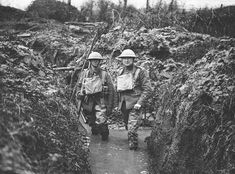Lest we forget: 30 images highlight realities of World War One - Get Surrey