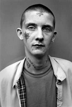 """""""The skinheads could be a little intimidating if there was a whole bunch of them and they'd been drinking,"""" he said. """"But no more so than a lot of other young people and less so than some."""""""