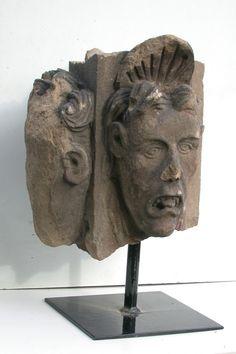 Antique for sale Renaissance mascaron House of the Heads Colmar Mask Head Sculpture Fine arts architecture