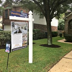 Custom real estate for sale sign gets more exposure and sells Austin homes for more. Will the sign in your yard tell your home's story or your agents?
