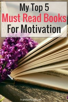 Are you looking for some great must read books on motivation for this year? Check out this list of highly recommended reads!