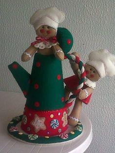Resultado de imagen para cafeteras navideñas en paño lency