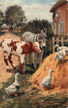 Making Friends, Sydney Hayes, 1905