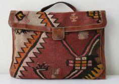 Tribal purse. Love geometric patterns.