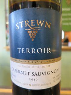 Strewn Terroir Cabernet Sauvignon 2010 - VQA Niagara-on-the-Lake, Niagara Peninsula, Ontario, Canada (90+ pts)